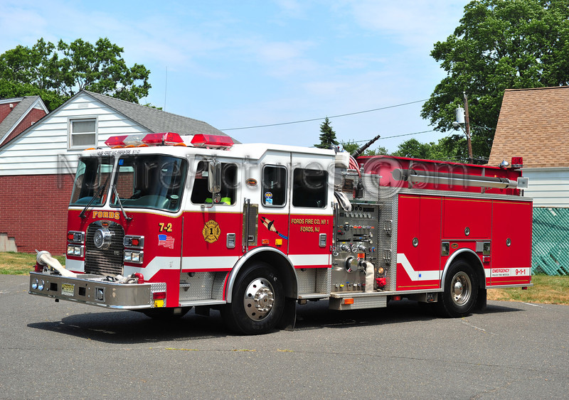 WOODBRIDGE TWP (FORDS FIRE CO) ENGINE 7-2