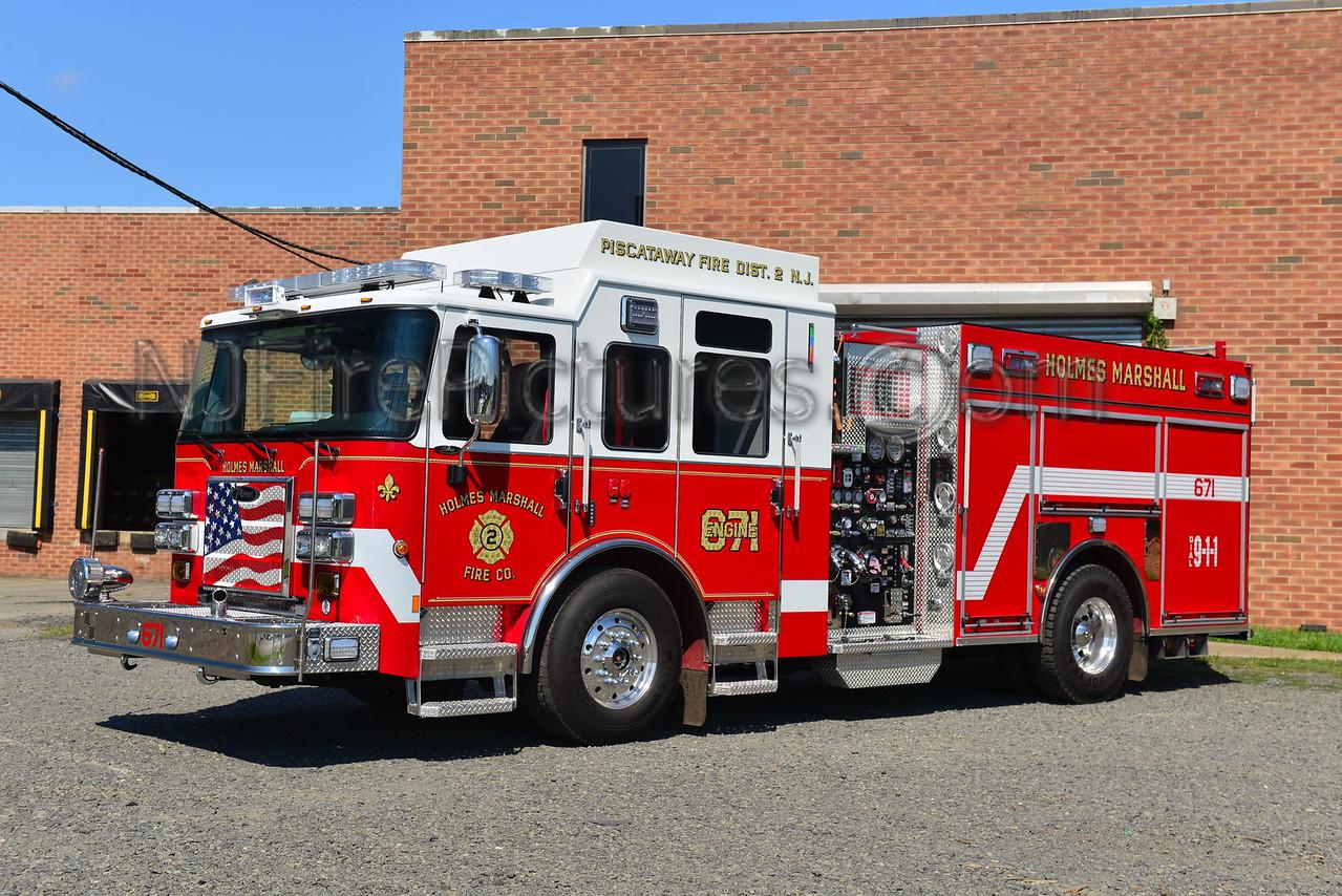 PISCATAWAY, NJ ENGINE 671 HOLMES MARSHALL FIRE CO.