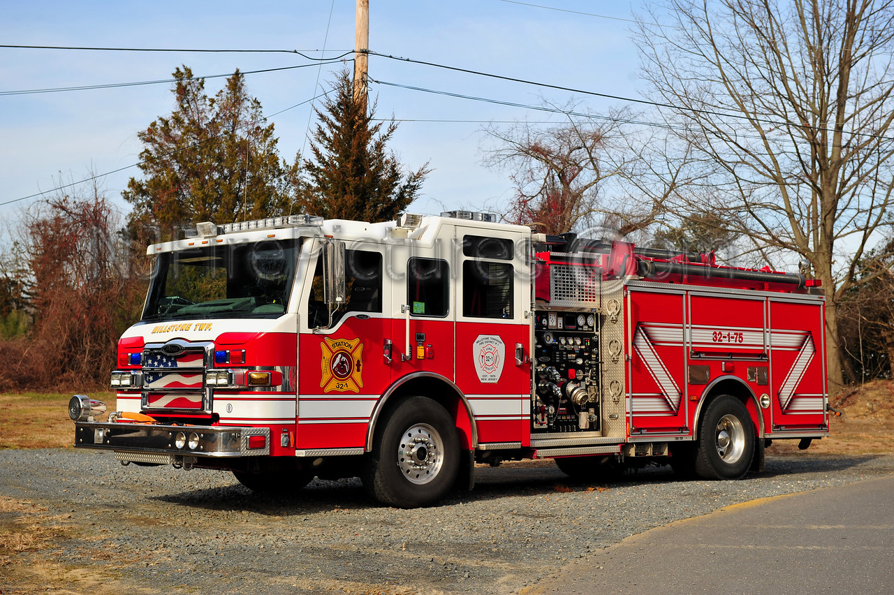 MILLSTONE TWP (CLARKSBURG) ENGINE 32-1-75 - 2008 PIERCE VELOCITY 2000/750/30
