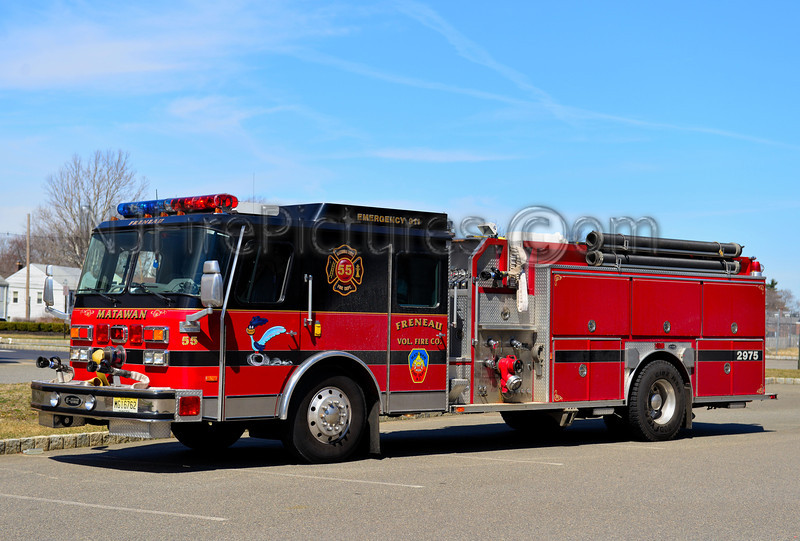 MATAWAN NJ FRENEAU FIRE CO. ENGINE 29-75