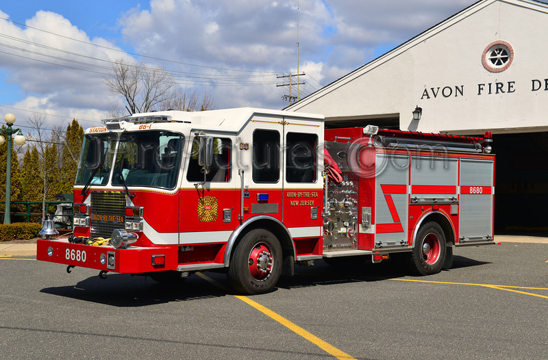 AVON BY THE SEA - ENGINE 86-80 - 2010 KME 1250/1000