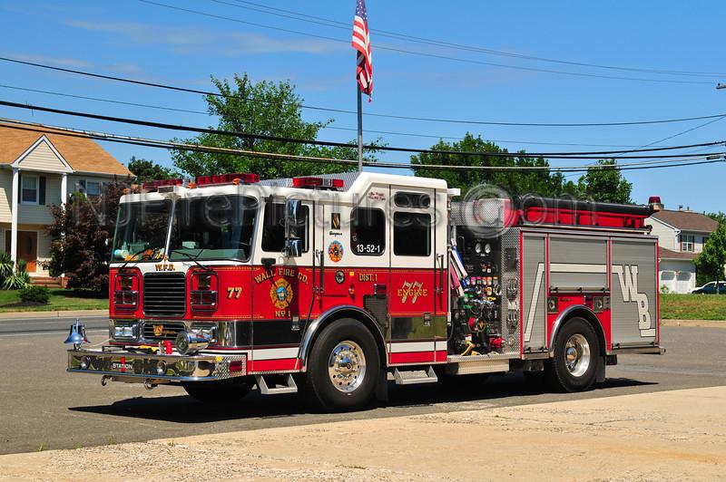 WALL TWP, NJ (WEST BELMAR) ENGINE 13-52-1 - 2007 SEAGRAVE 1750/750