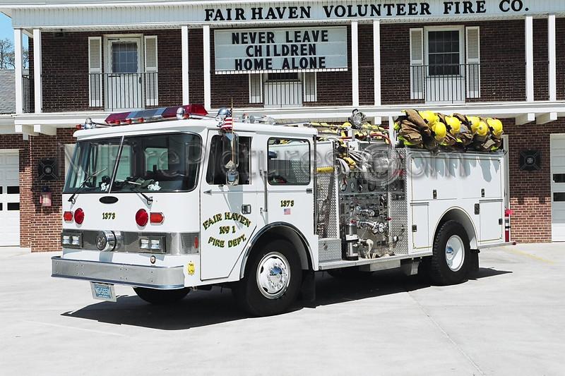 FAIR HAVEN - ENGINE 1373 - 1981 PIERCE ARROW 1500/500