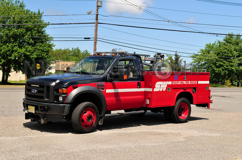 SOUTH WALL TWP, NJ 52-3-88 - 2009 FORD F550/KNAPHEIDE/IM SERVICES UTILITY TRUCK