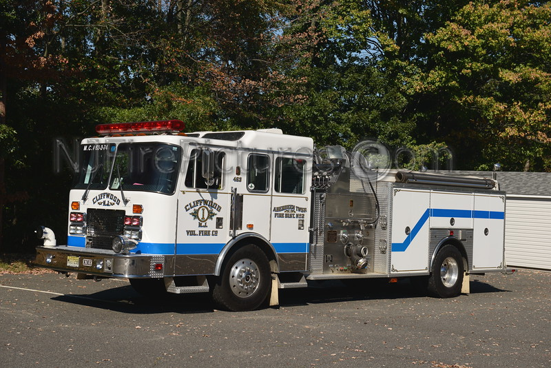 ABERDEEN TOWNSHIP, NJ ENGINE 63-2-74 CLIFFWOOD F.C.