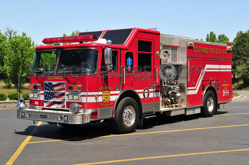 Howell Twp (Southard FC) Engine 19-3-75 - 2002 Pierce Dash 1250/750/50