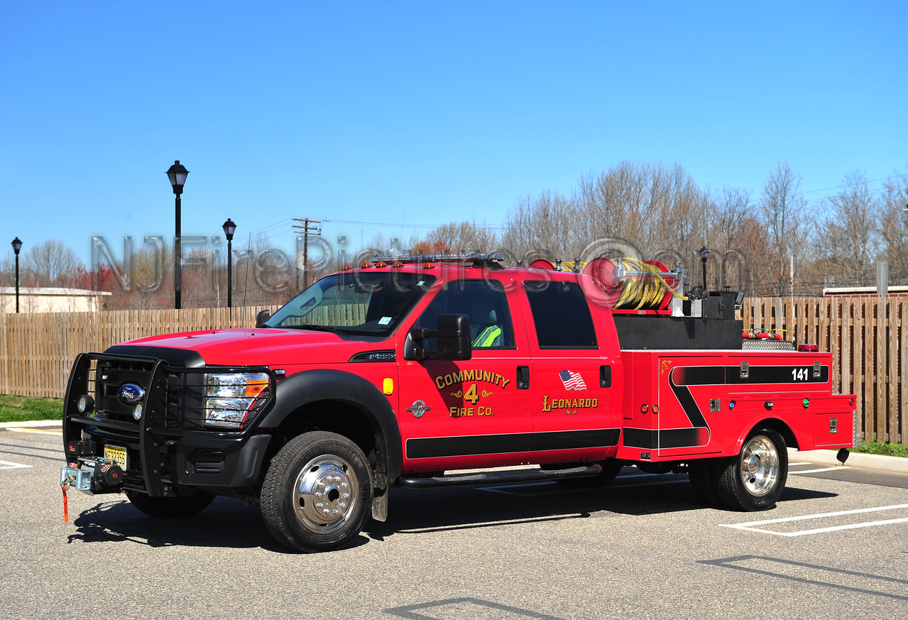MIDDLETOWN, NJ BRUSH 141 - 2011 FORD F550/ALUMILITE 300/300/10/10 COMMUNITY FIRE CO.