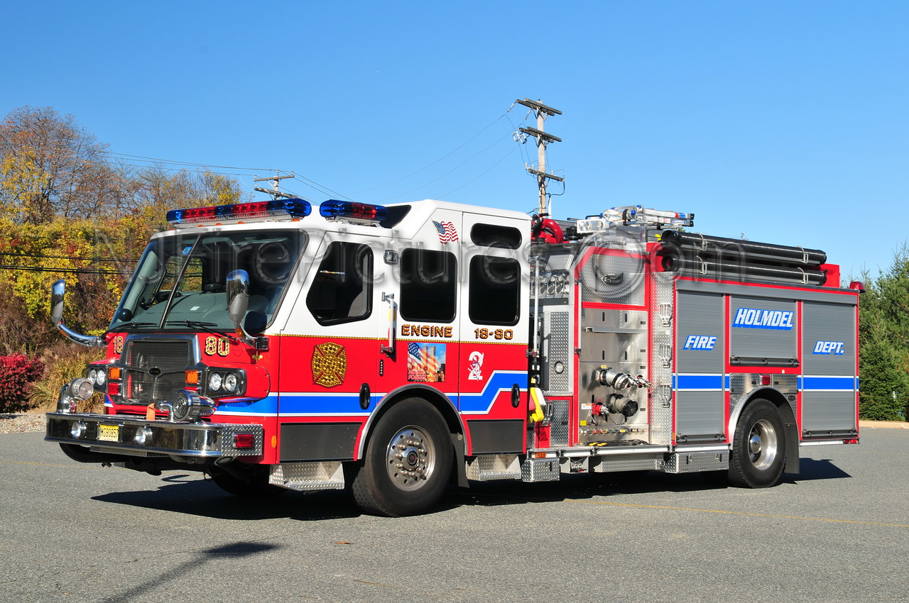 HOLMDEL ENGINE 18-80 - 2009 EMERGENCY ONE QUEST 2000/1000