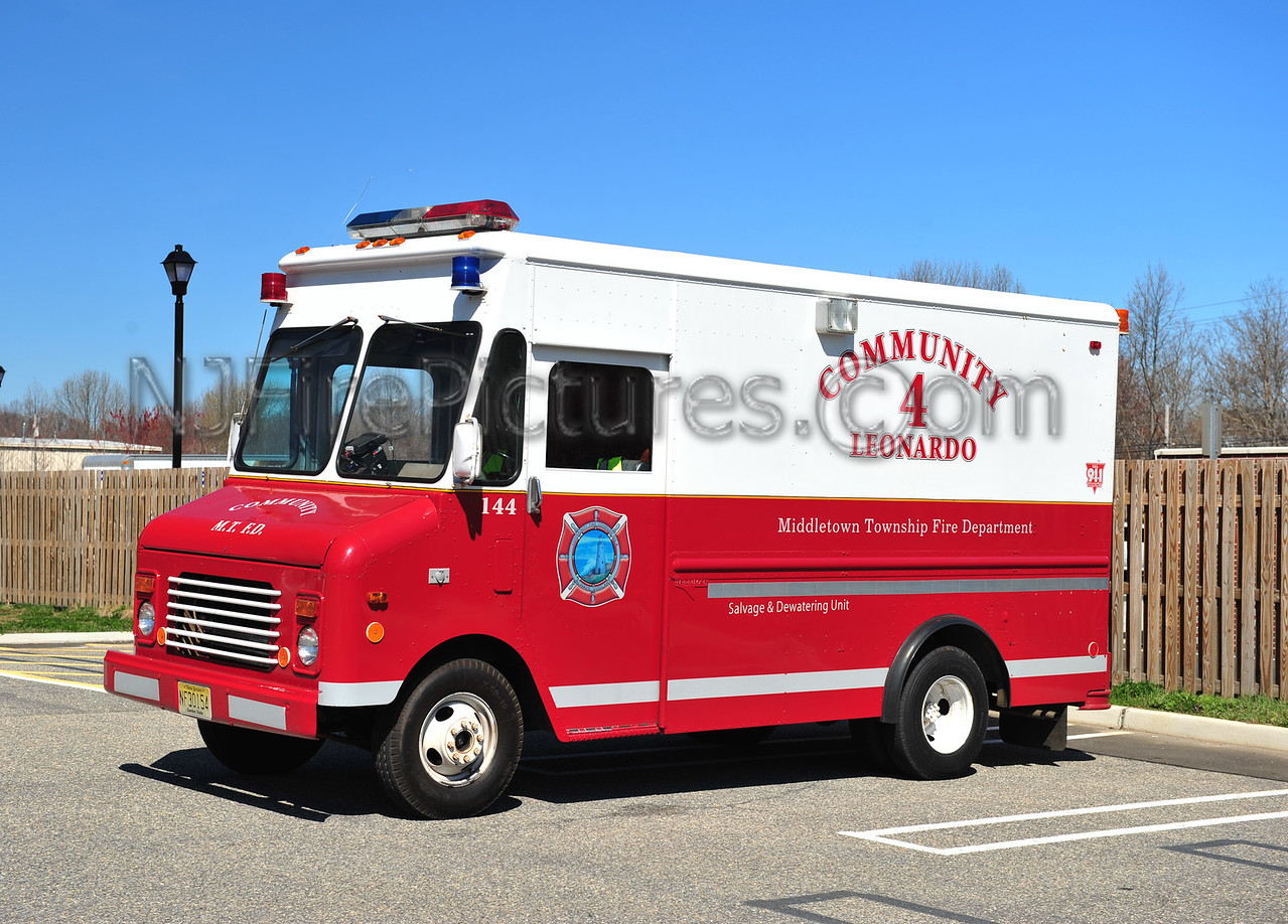 MIDDLETOWN, NJ DEWATERING 144 - 1985 CHEVY/GRUMMAN