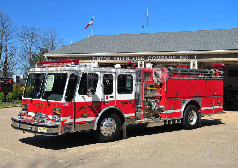 TINTON FALLS, NJ ENGINE 36-176 - 1991 EMERGENCY ONE HUSH 1500/500