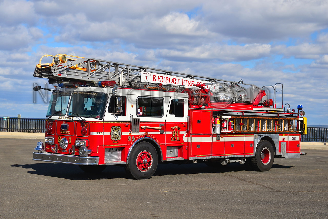 KEYPORT, NJ LADDER 2291