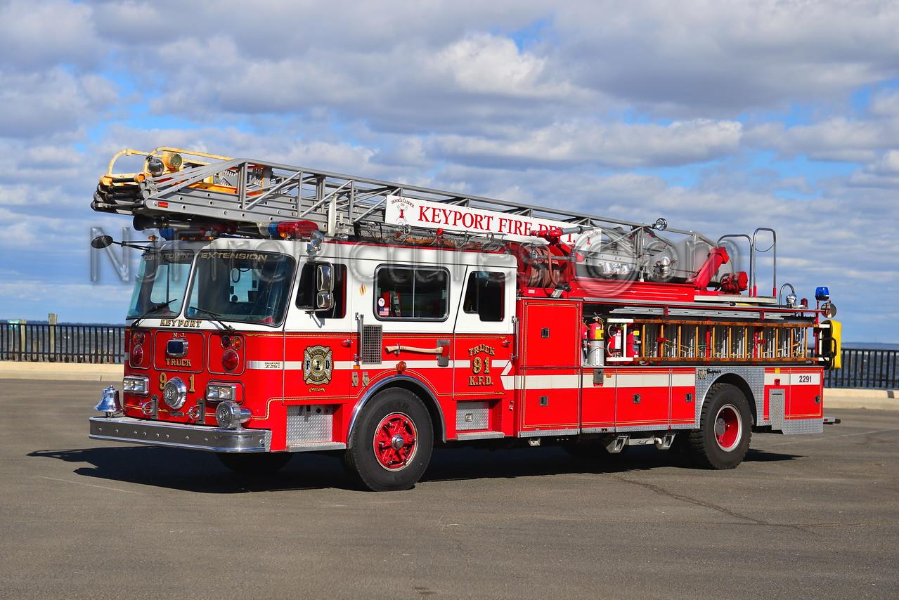 KEYPORT, NJ LADDER 2291
