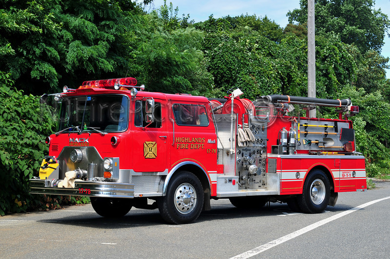 HIGHLANDS, NJ ENGINE 17-78 - 1986 MACK CF/WARD 79 1000/1000