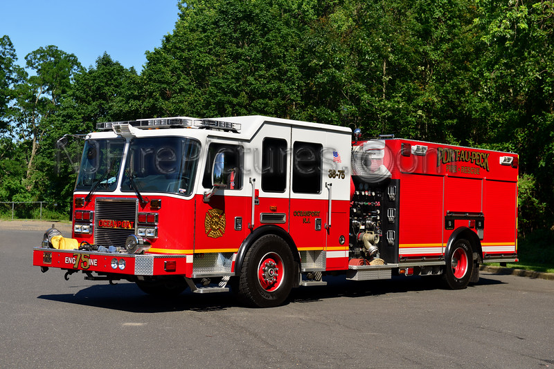 OCEANPORT, NJ ENGINE 38-75 PORT-AU-PECK FIRE CO.