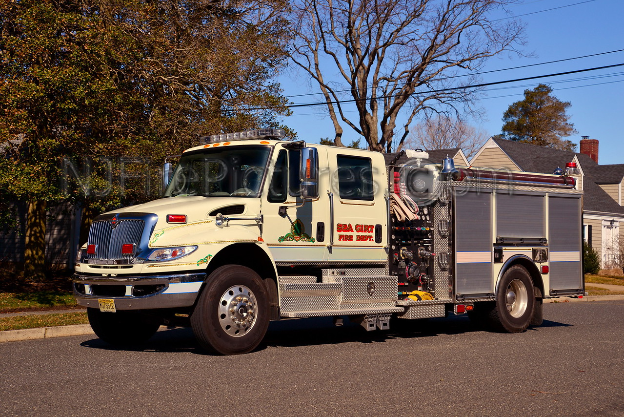 SEA GIRT ENGINE 4474 - 2008 INTERNATIONAL/KME 1250/750