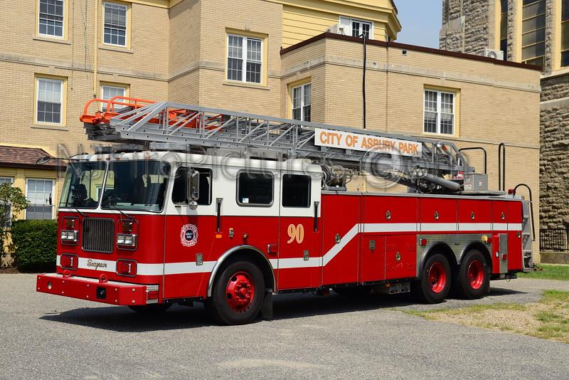 ASBURY PARK, NJ LADDER 83-90