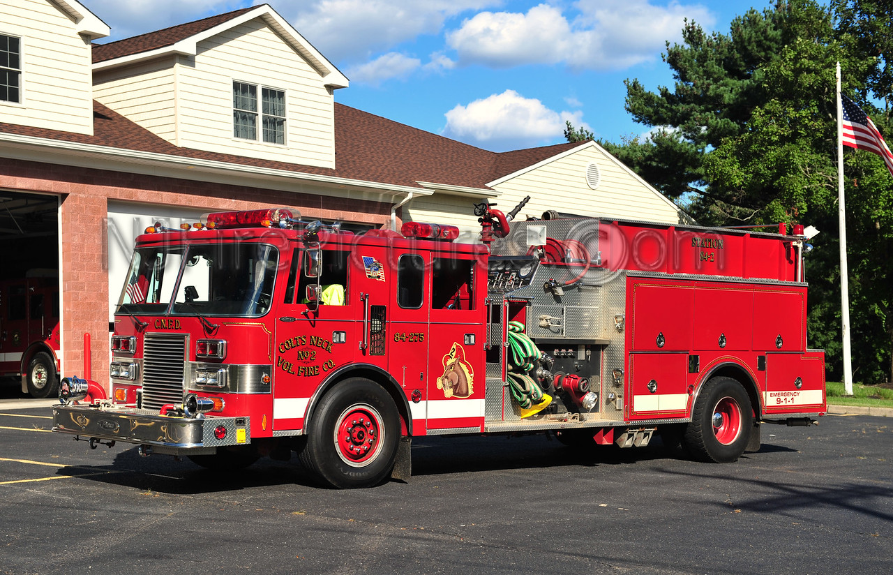 COLTS NECK ENGINE 84-275 - 1989 PIERCE LANCE 1250/1000