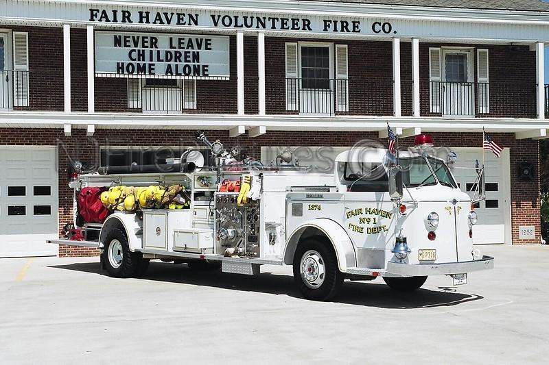 FAIR HAVEN - 1374 - 1954 AMERICAN LAFRANCE QUAD 750/275