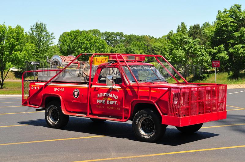 Howell Twp (Southard FC) Brush 19-3-93 - 1977 Dodge 200/250