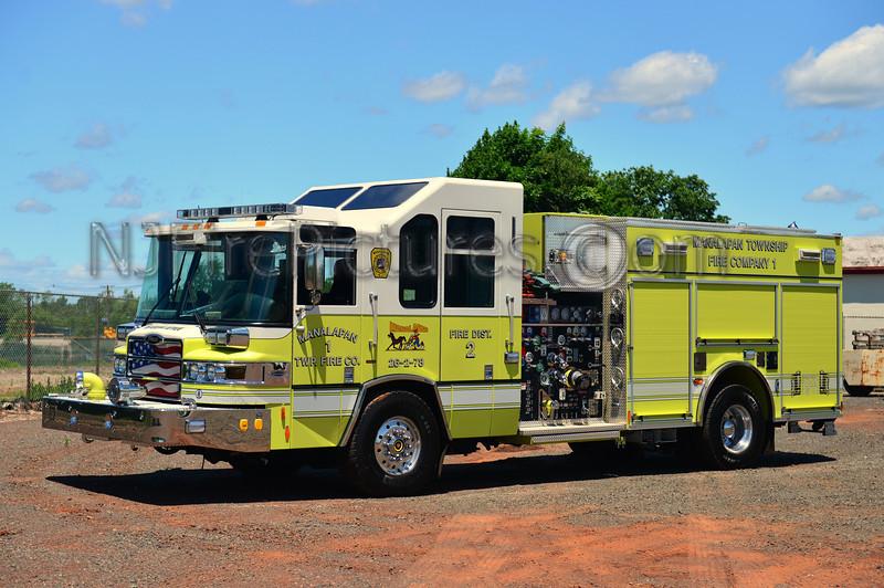 MANALAPAN, NJ ENGINE 26-2-78 - 2009 PIERCE QUANTUM 2000/750/50 CAFS