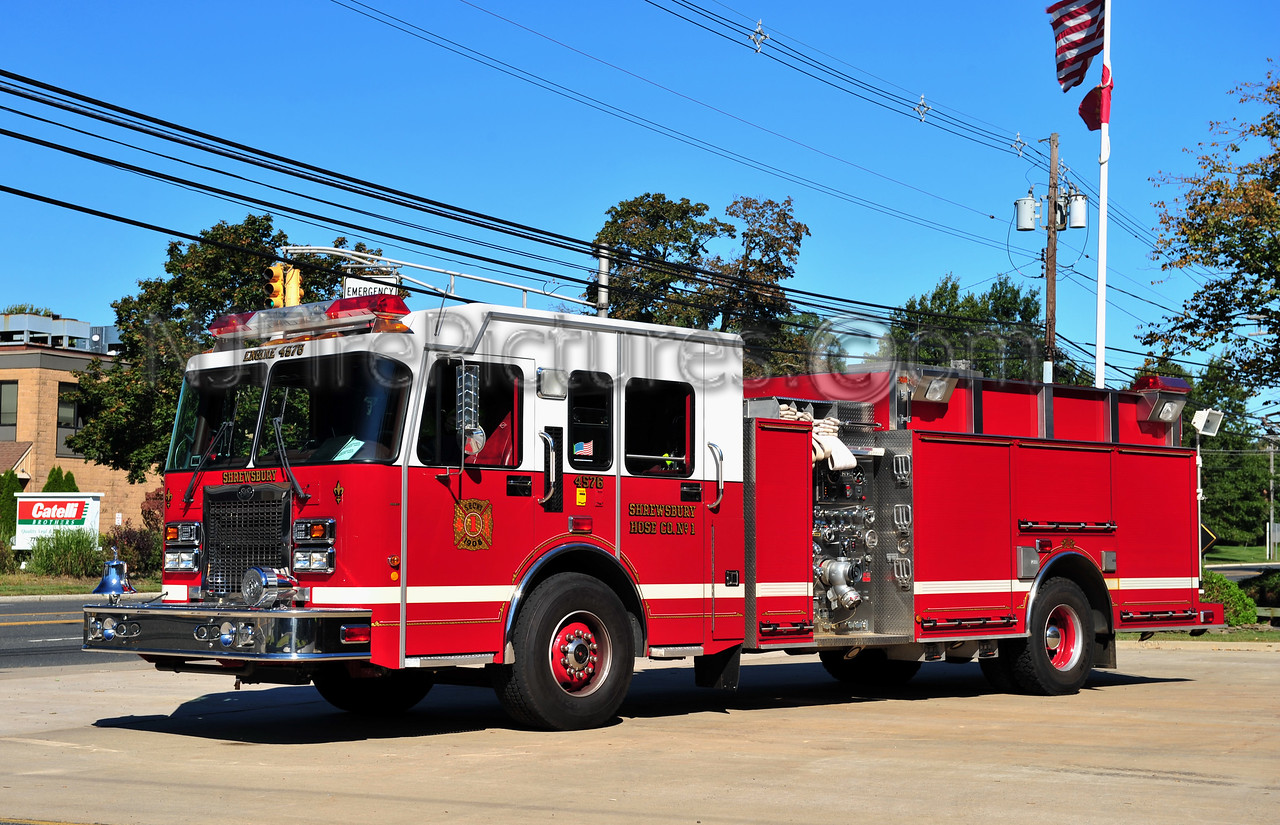 SHREWSBURY, NJ ENGINE 4576 - SPARTAN/S&S 2000/750