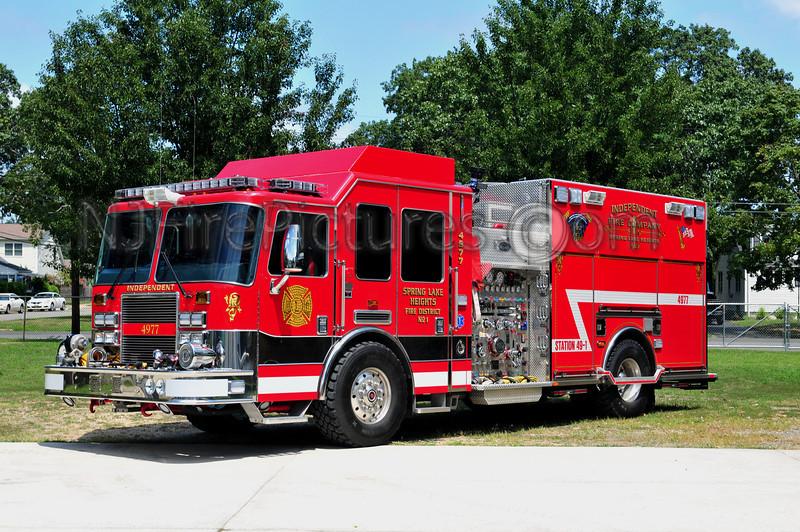 SPRING LAKE HEIGHTS, NJ ENGINE 49-77 - 2009 KME PREDATOR 2000/750/25