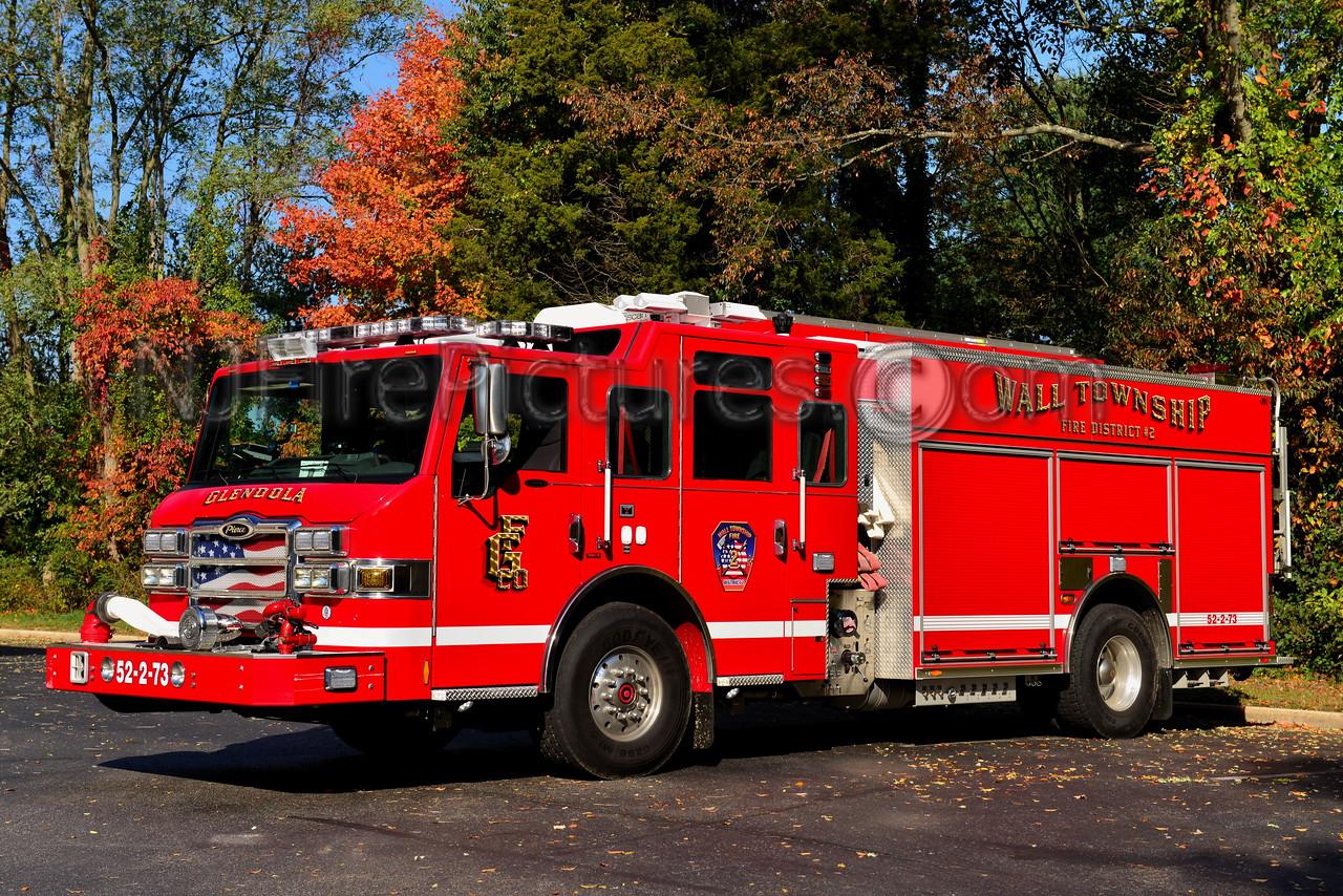 WALL TOWNSHIP GLENDOLA FIRE CO. ENGINE 52-2-73