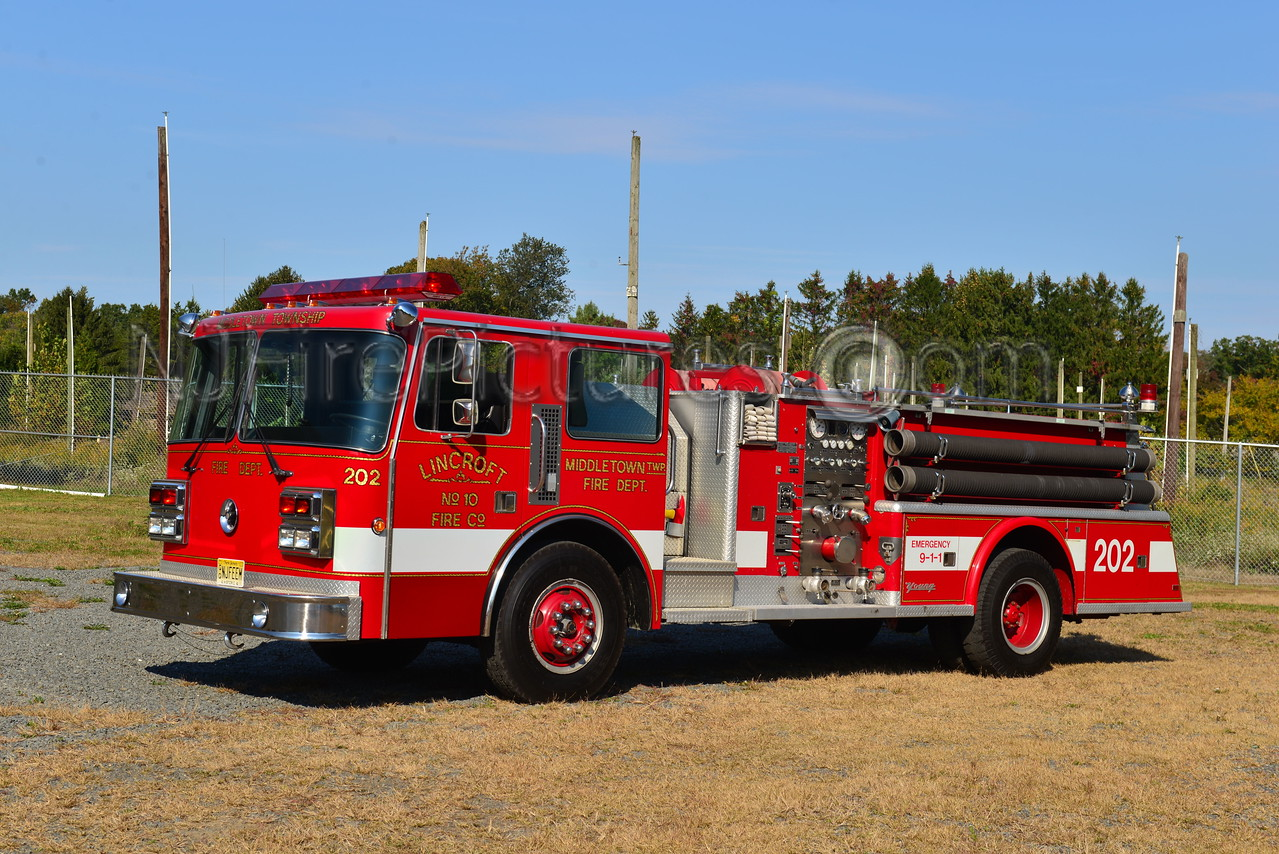 MIDDLETOWN TWP, NJ LINCROFT ENGINE 202