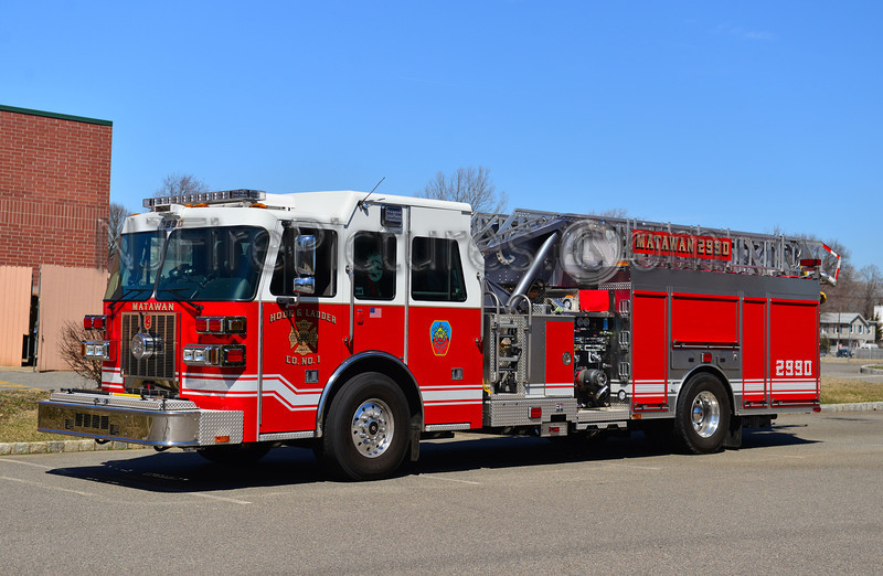 MATAWAN NJ HOOK & LADDER CO. 1 LADDER 29-90
