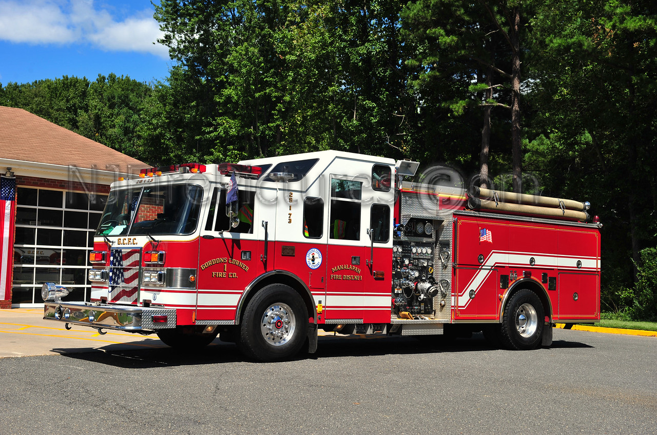 MANALAPAN (GORDONS CORNER) ENGINE 26-1-73 - 1997 PIERCE LANCE 2000/750