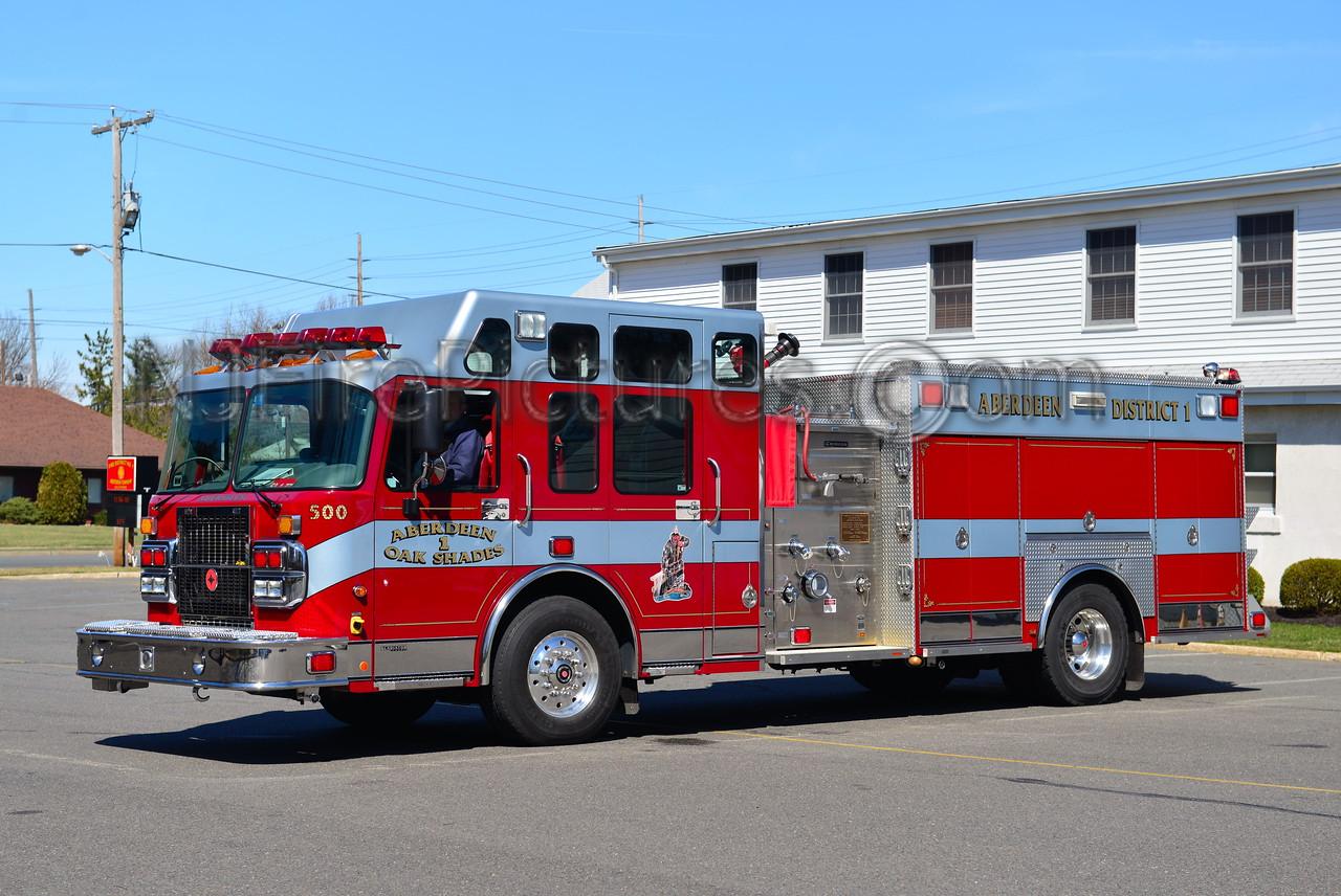 ABERDEEN NJ OAK SHADES FIRE CO. ENGINE 63-171