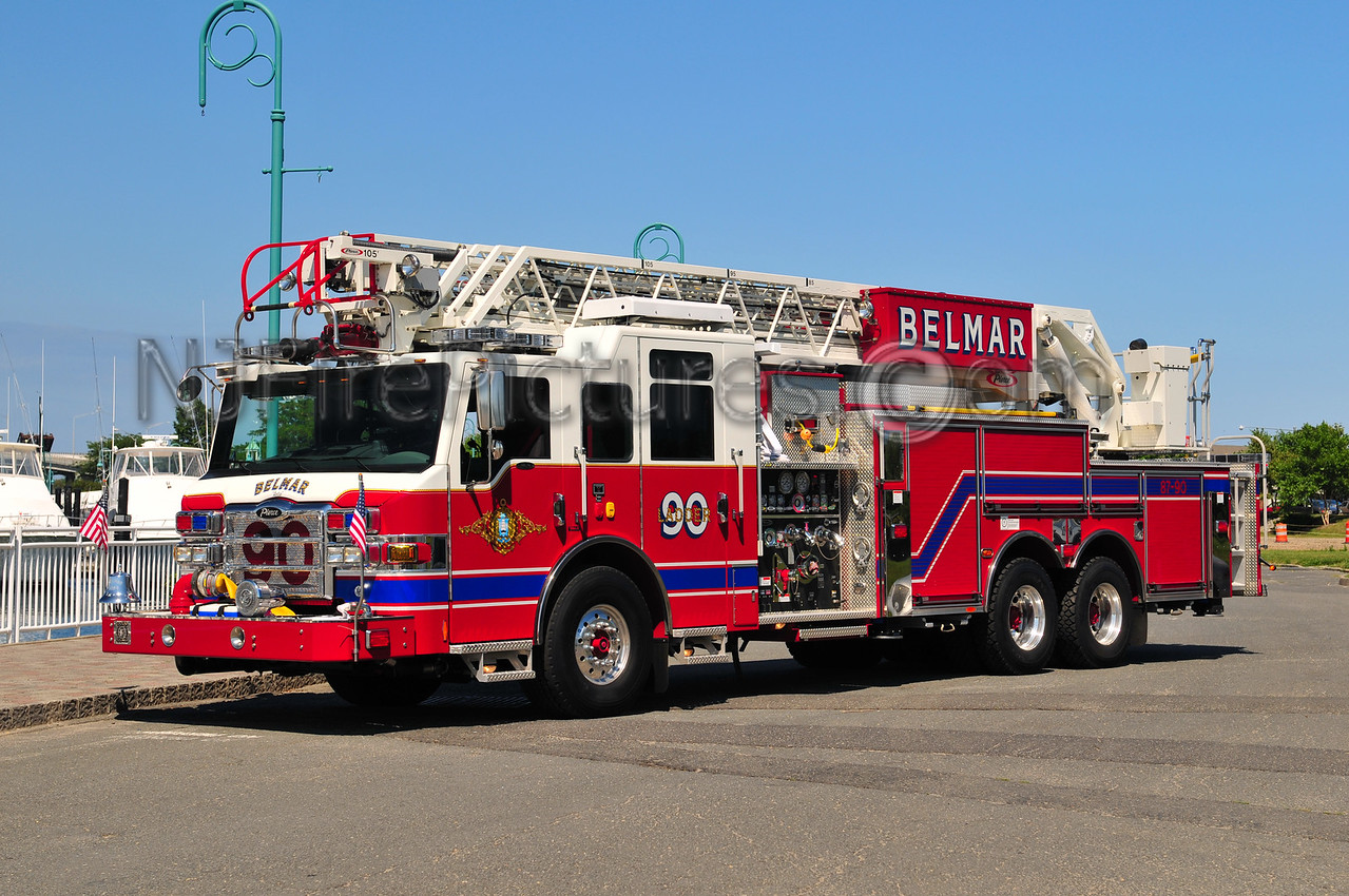 BELMAR, NJ LADDER 90 - 2009 PIERCE VELOCITY 2000/500/105'