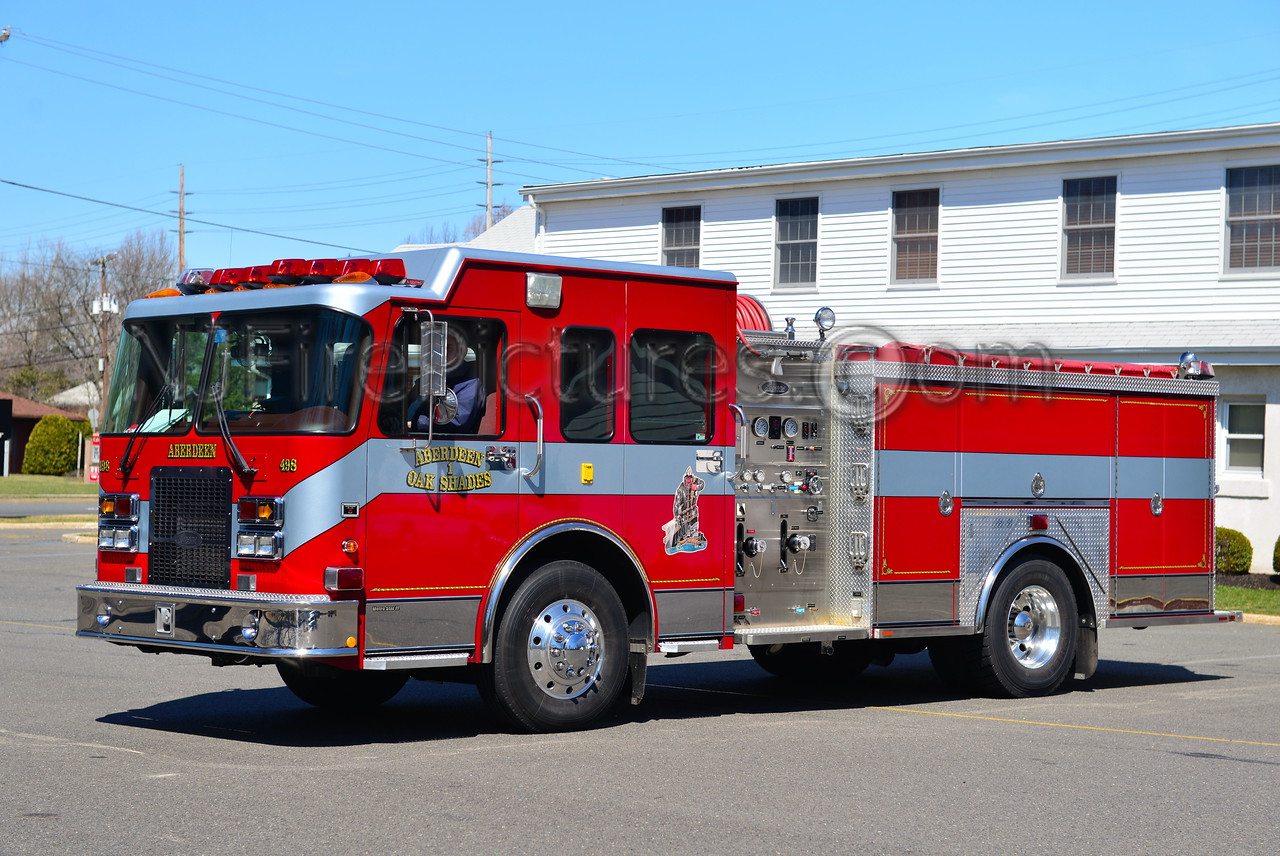 ABERDEEN NJ OAK SHADES FIRE CO. ENGINE63-186