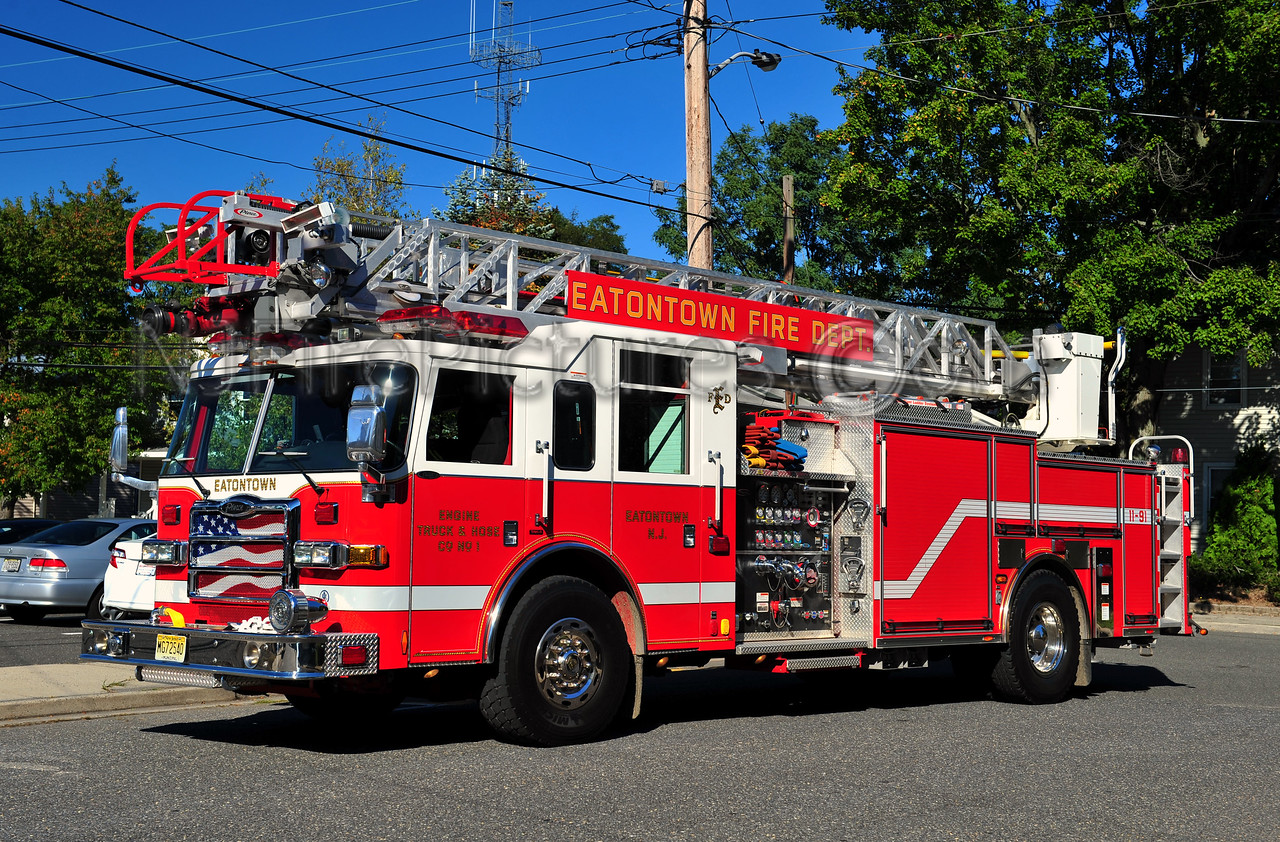 EATONTOWN, NJ LADDER 1191 - 2006 PIERCE DASH 1500/500/75'