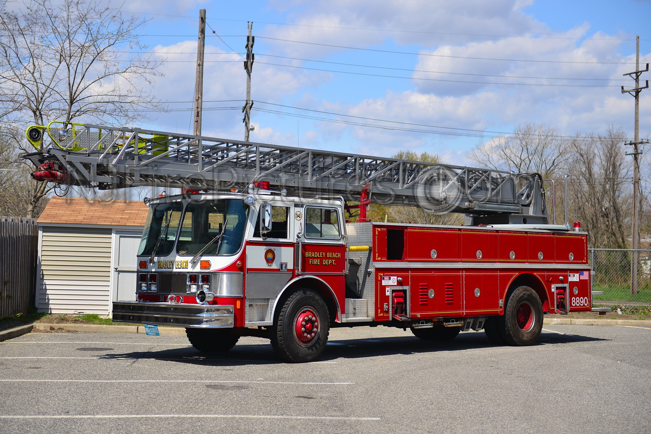 BRADLEY BEACH, NJ LADDER 86-90