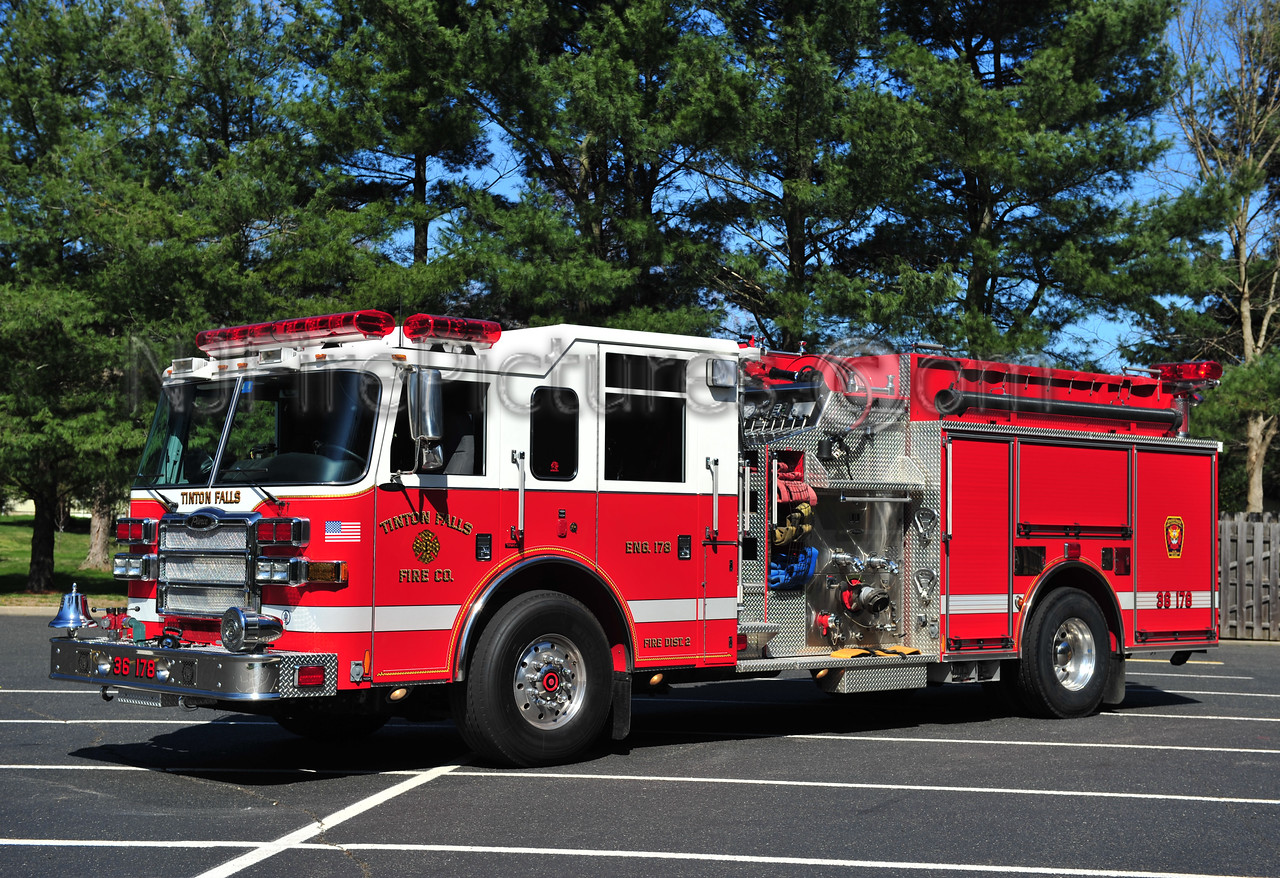 TINTON FALLS, NJ ENGINE 36-178 - 2007 PIERCE DASH 1750/750
