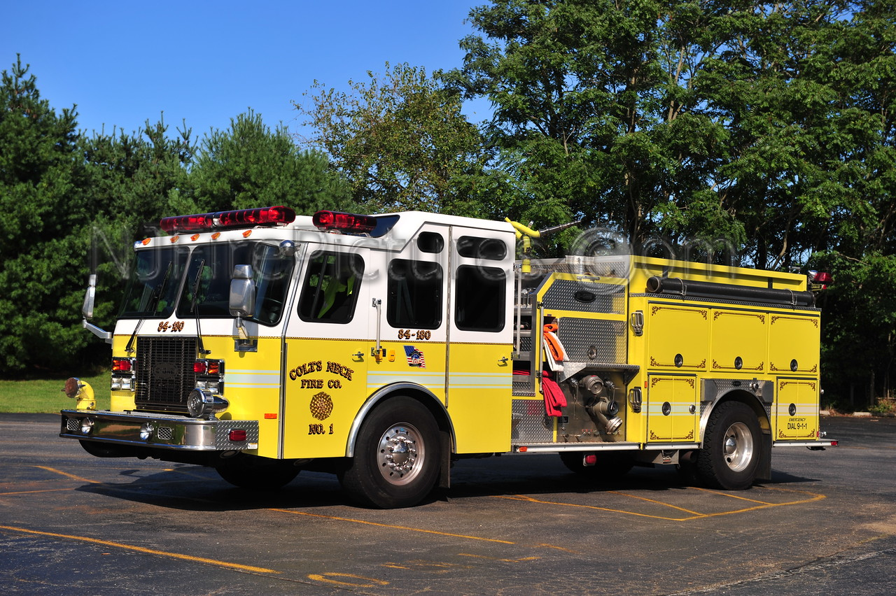 COLTS NECK ENGINE 84-180 - 1999 EMERGENCY ONE 1500/1000