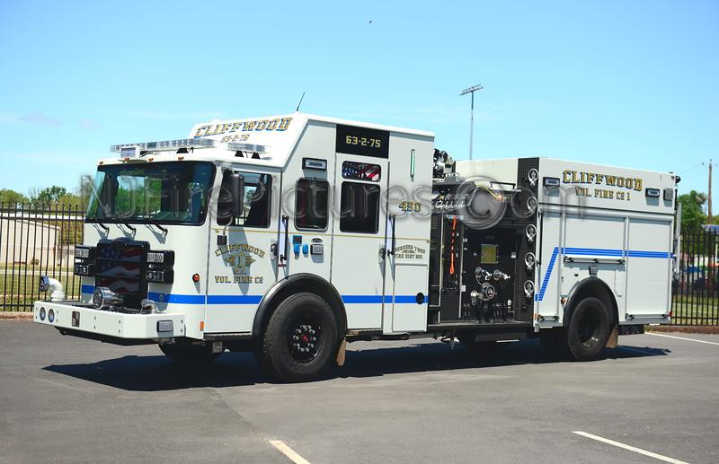 ABERDEEN TWP, NJ ENGINE 63-2-75 CLIFFWOOD F.C.