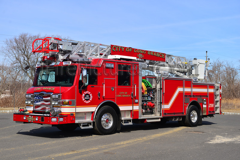 LONG BRANCH, NJ LADDER 2591