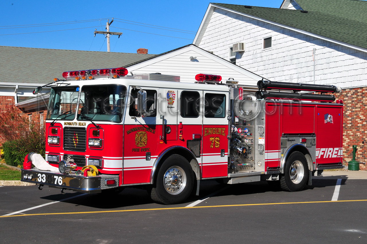 MONMOUTH BEACH ENGINE 33-76 - 2004 SEAGRAVE 1500/500/30