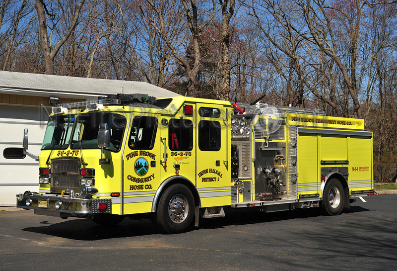 TINTON FALLS (PINE BROOK) ENGINE 36-3-76 - 2008 EMERGENCY ONE 2000/750
