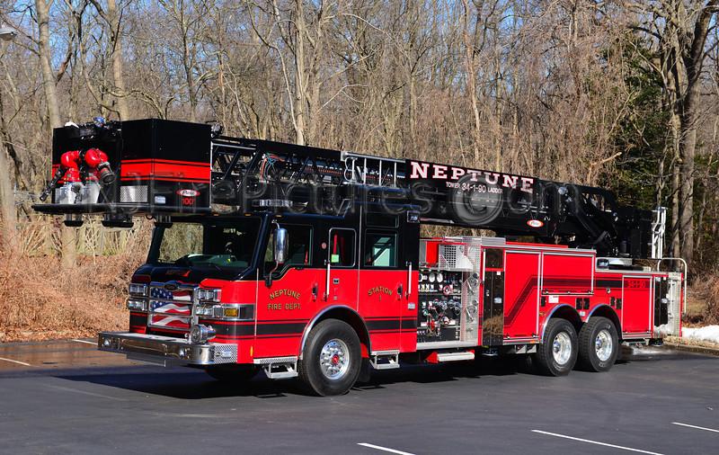 NEPTUNE, NJ TOWER LADDER 34-1-90