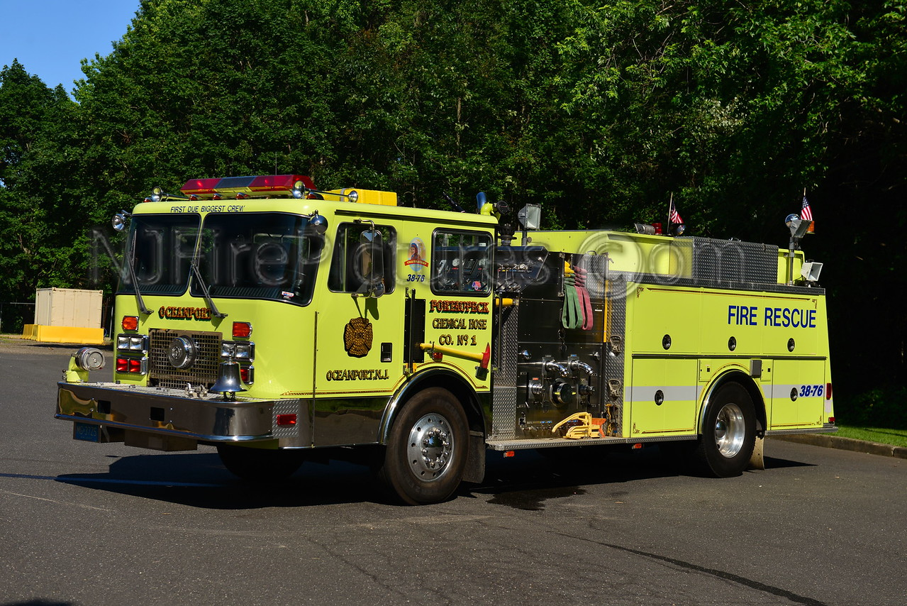 OCEANPORT, NJ ENGINE 38-76 PORT-AU-PECK FIRE CO.