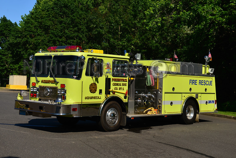 OCEANPORT, NJ ENGINE 38-76 PORT-AU-PECK FIRE CO.