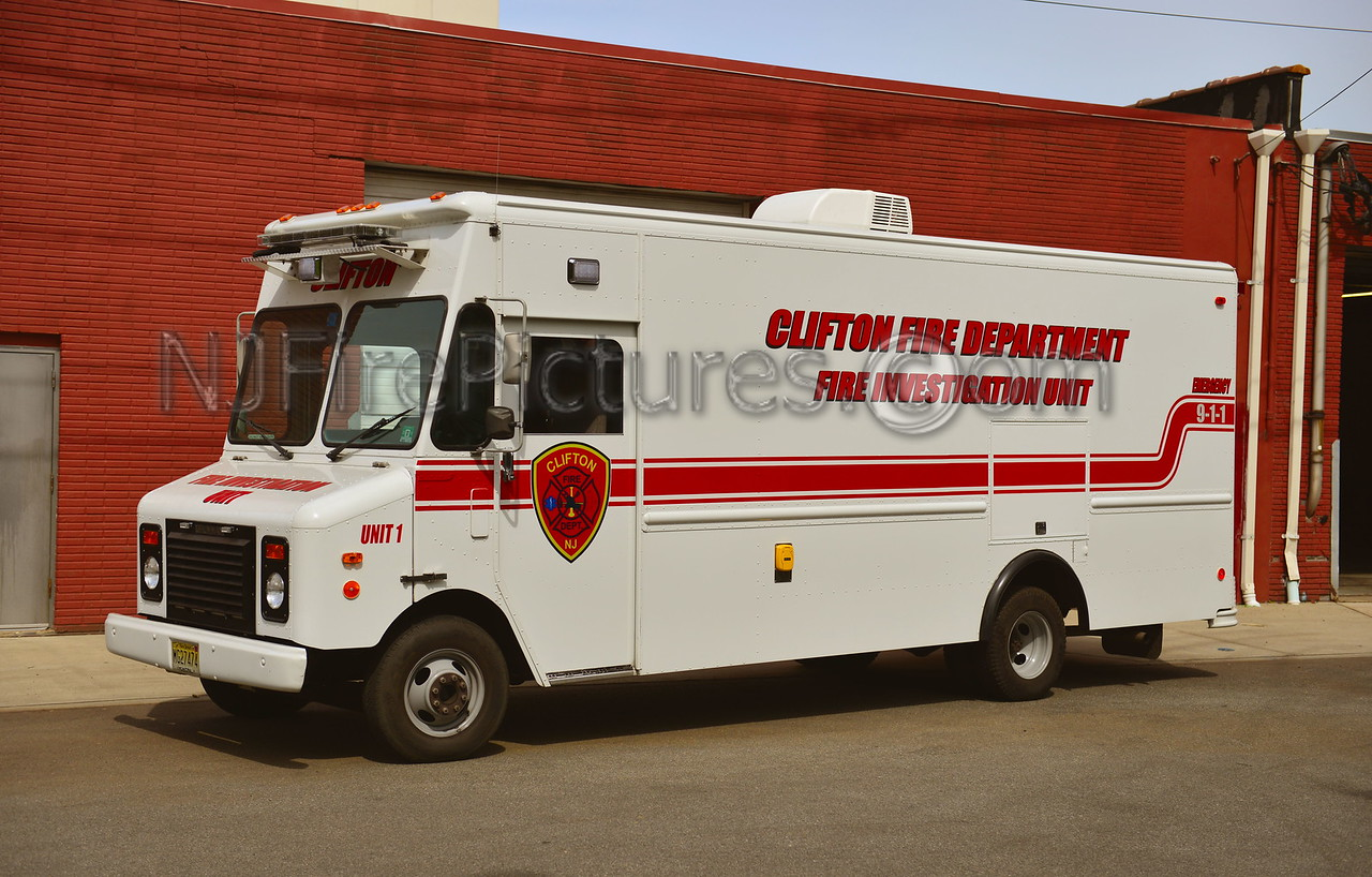 CLIFTON FIRE INVESTIGATION UNIT