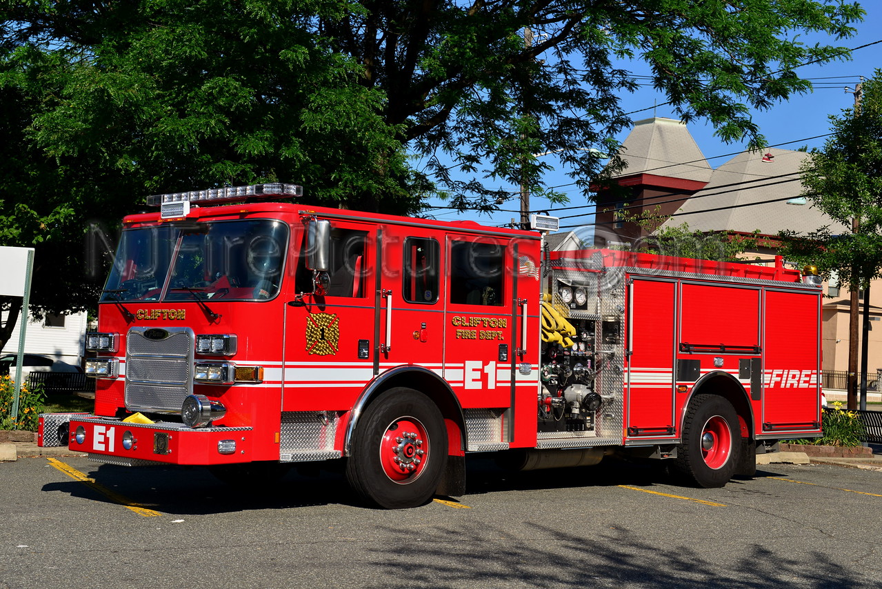 CLIFTON, NJ ENGINE 1