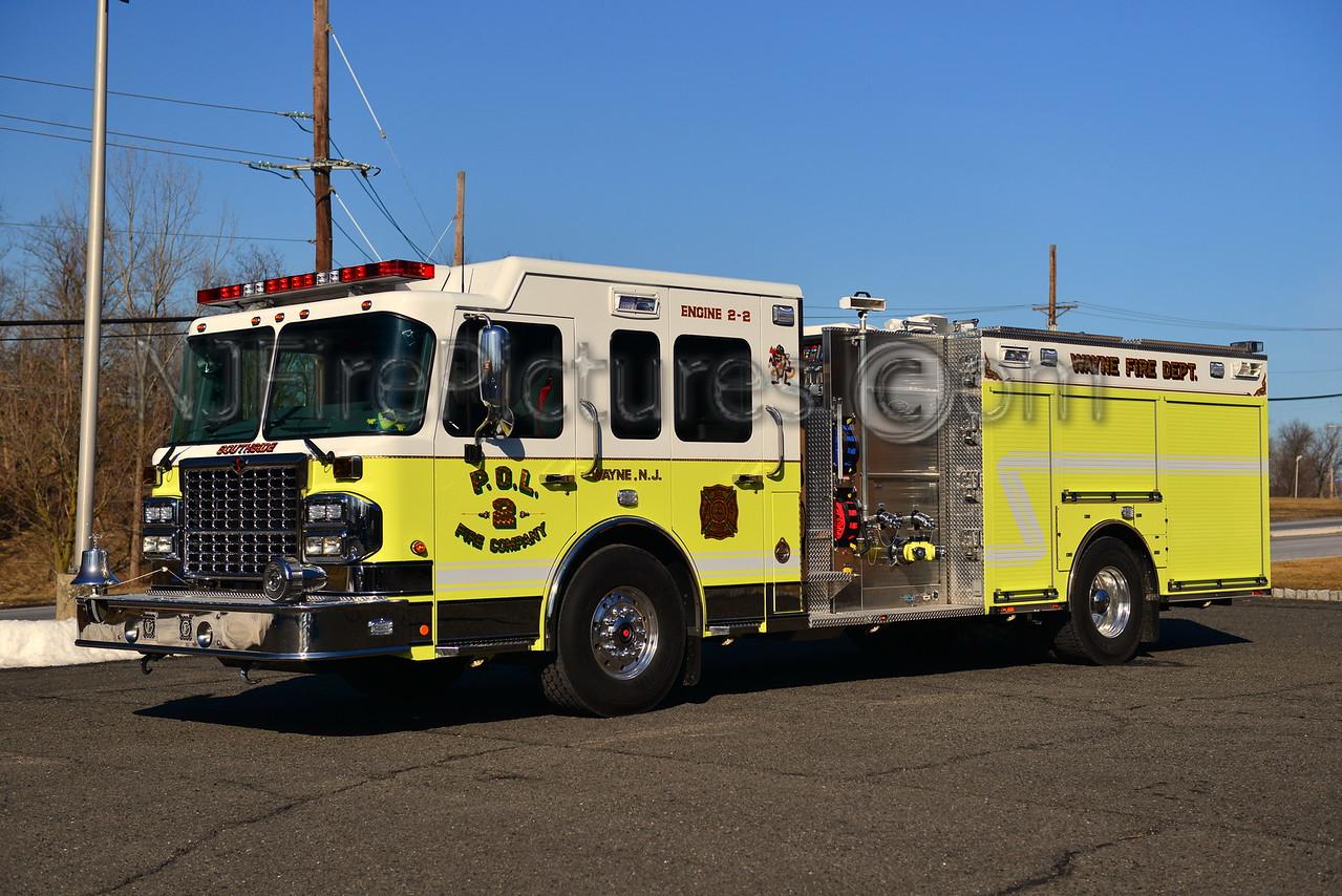 WAYNE, NJ ENGINE 2-2 - 2012 SPARTAN.TOYNE 1500/800/100/100B
