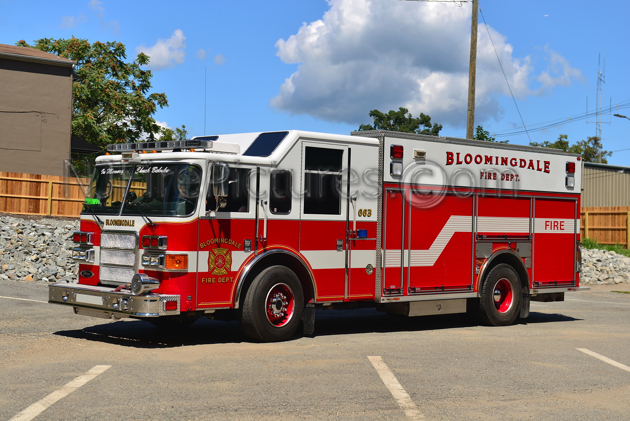 BLOOMINGDALE, NJ RESCUE-ENGINE 663