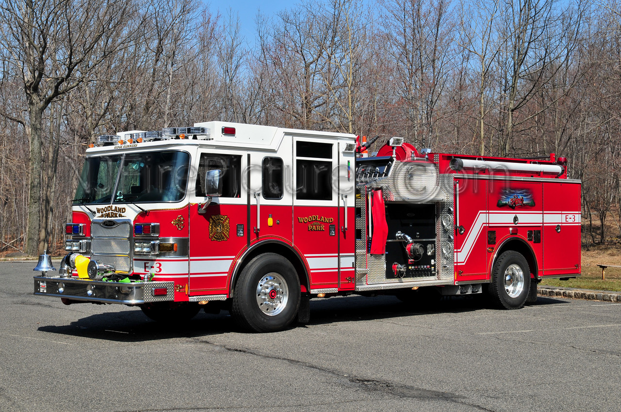 WOODLAND PARK (aka WEST PATERSON) ENGINE 3 - 2010 PIERCE ARROW XT 2000/500