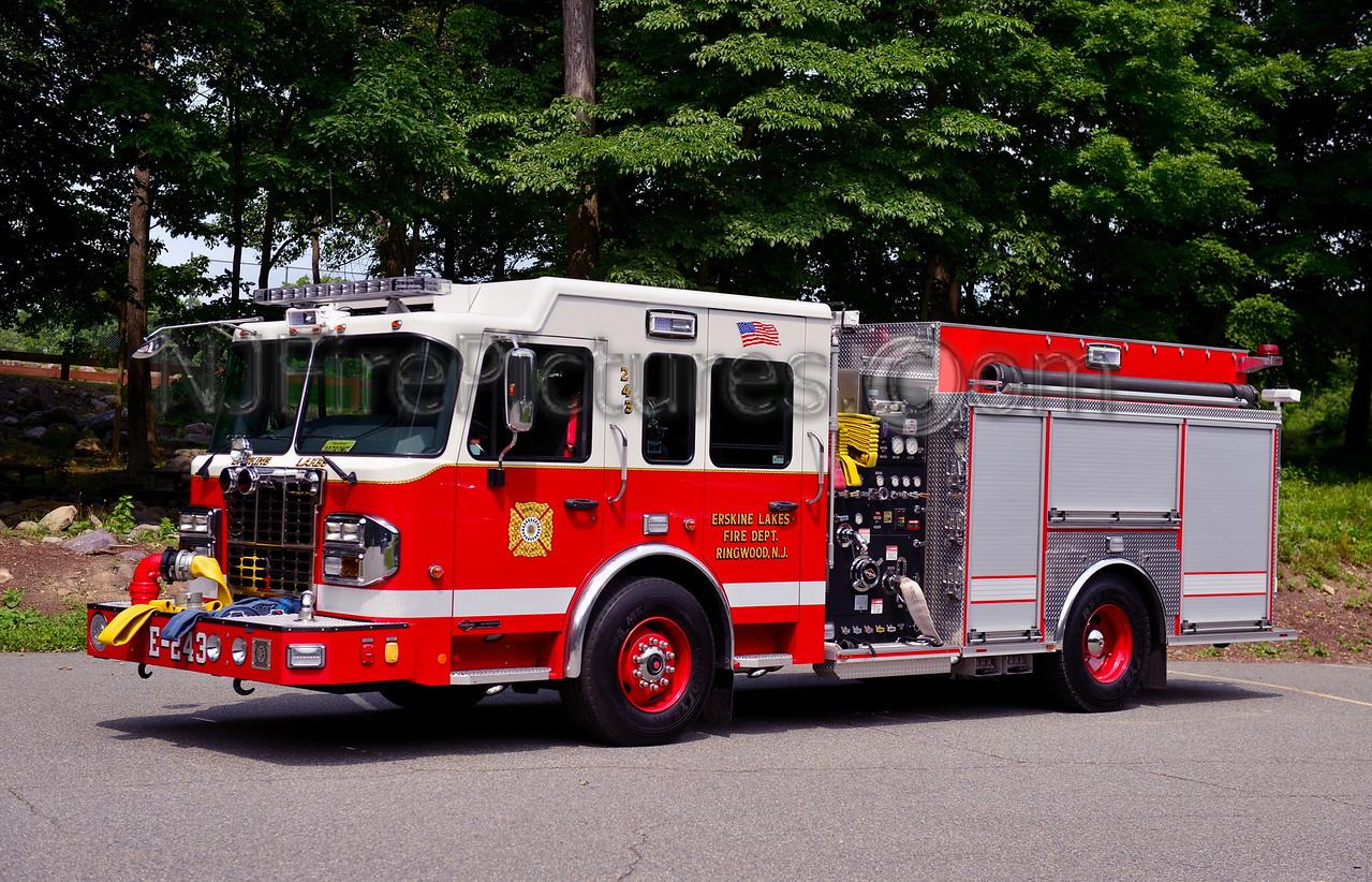 RINGWOOD, NJ ENGINE 243 ERSKINE LAKES FIRE CO.